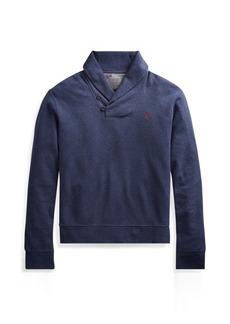 Ralph Lauren Luxury Jersey Shawl Pullover