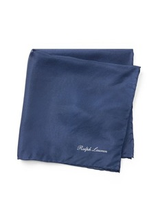 Ralph Lauren Silk Habotai Pocket Square