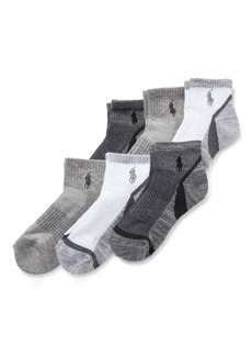 Ralph Lauren Marled Quarter Sock 6-Pack