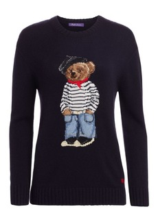 Ralph Lauren Marseille Bear Crewneck Sweater