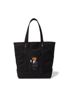 Ralph Lauren Martini Bear Canvas Tote