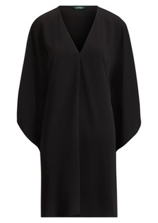 Ralph Lauren Matte Crepe Shift Dress