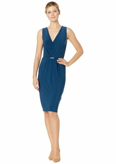 Ralph Lauren Matte Jersey Lazia Sleeveless Day Dress