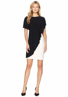 Ralph Lauren Matte Jersey Naila Short Sleeve Day Dress