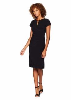 Ralph Lauren Matte Jersey Sanya Short Sleeve Day Dress