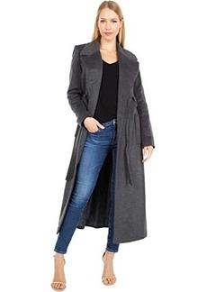 Ralph Lauren Maxi Belted Wrap Coat