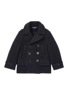 Ralph Lauren Melton Wool-Blend Peacoat
