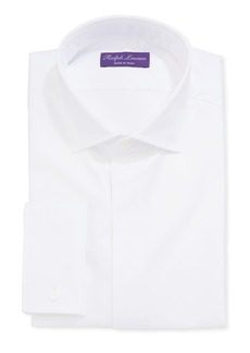 Ralph Lauren Men's Bond Basic Pleated Barrel-Cuff Dress Shirt