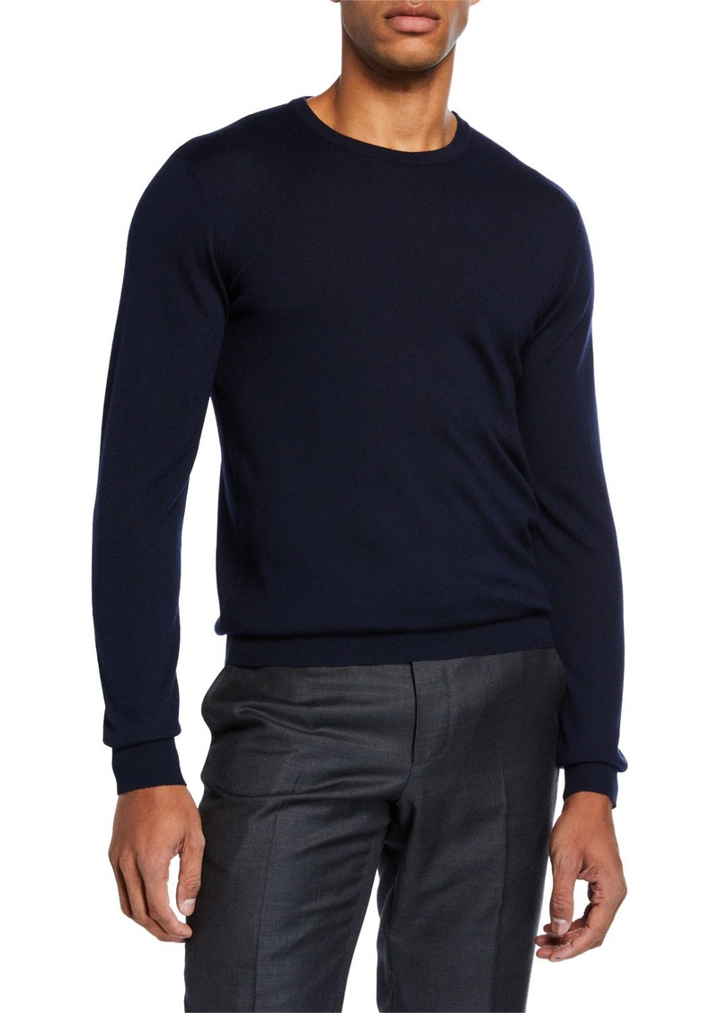 Ralph Lauren Men's Cashmere Crewneck Sweater