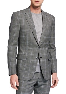 Ralph Lauren Men's Check Two-Piece Suit