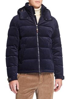 Ralph Lauren Men's Corduroy Puffer Jacket