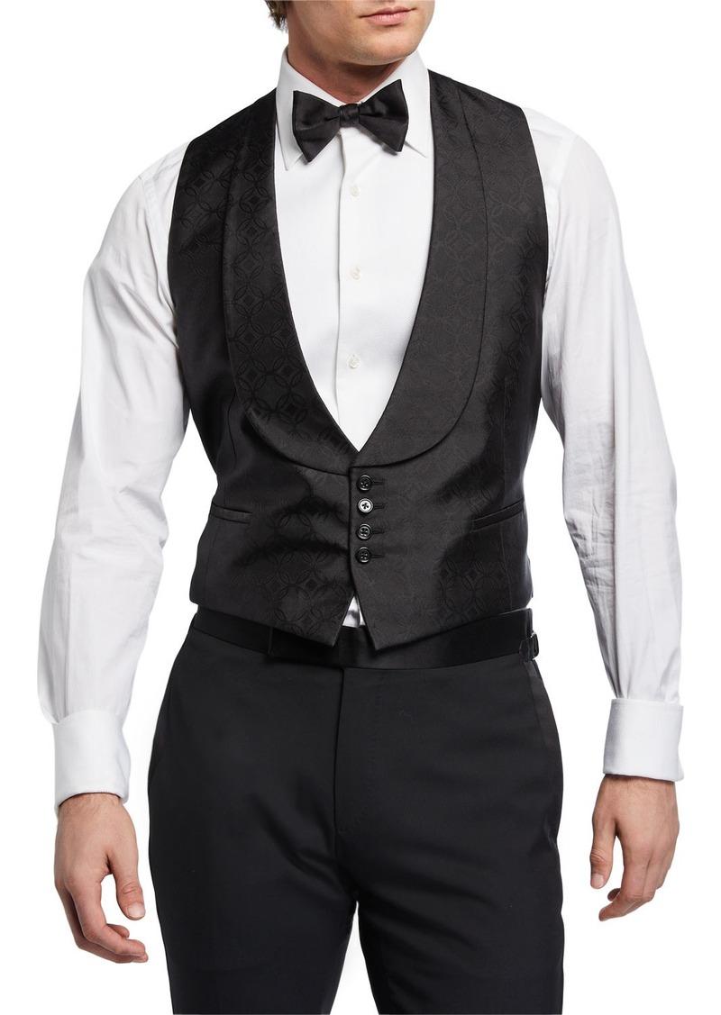 Ralph Lauren Men's Fancy Shawl-Collar Vest