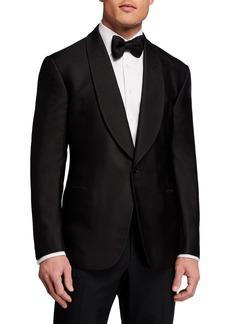 Ralph Lauren Men's Fancy Silk Dinner Jacket