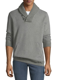 Ralph Lauren Men's Fleece Hybrid Shawl-Collar Sweater