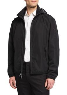 Ralph Lauren Men's Glen Deck Zip-Front Jacket