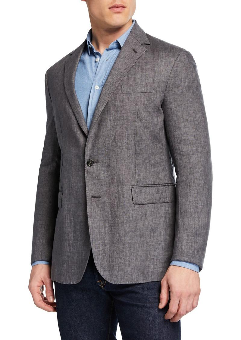 Ralph Lauren Men's Hadley Two-Button Linen Jacket