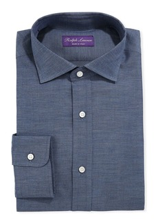 Ralph Lauren Men's Herringbone Dress Shirt