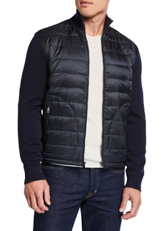 Ralph Lauren Men's Hybrid Lightweight Full-Zip Jacket