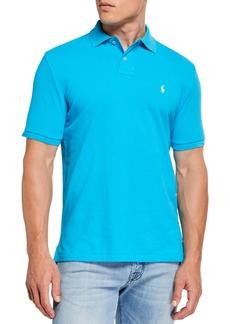 Ralph Lauren Men's Logo-Embroidered Polo Shirt  Blue