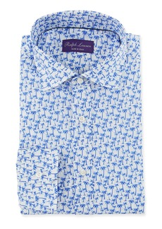 Ralph Lauren Men's Palm Tree Print Dress Shirt