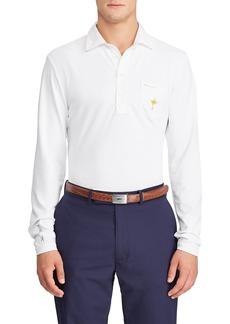 Ralph Lauren Men's Quarter-Button Long-Sleeve Golf Polo Shirt