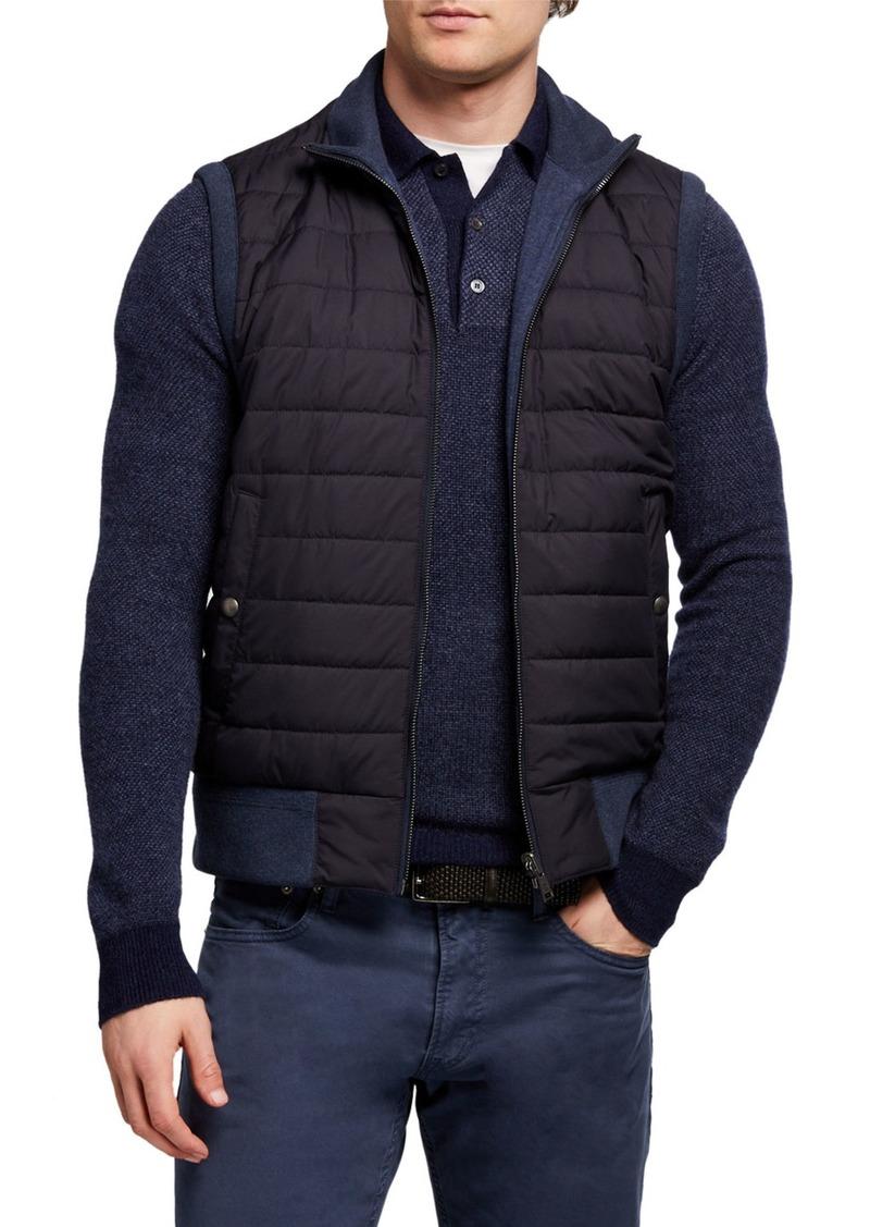 Ralph Lauren Men's Quilted Zip-Front Vest