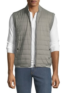 Ralph Lauren Men's Reversible Zip-Front Quilted Vest