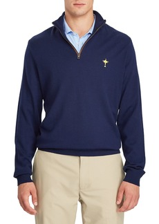 Ralph Lauren Men's Ryder Cup Quarter-Zip Merino Golf Sweater