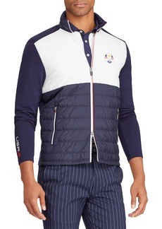 Ralph Lauren Men's Ryder Cup USA Cool Wool Insulating Golf Jacket