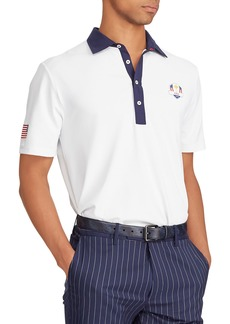 "Ralph Lauren Men's ""Saturday"" USA Ryder Cup Lightweight Knit Golf Polo Shirt"
