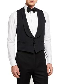 Ralph Lauren Men's Shawl-Collar Faille Vest
