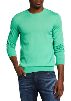 Ralph Lauren Men's Solid Cashmere Crewneck Sweater