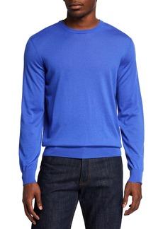 Ralph Lauren Men's Solid Cashmere Sweater