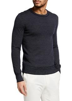 Ralph Lauren Men's Striped Cashmere Sweater