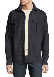 Ralph Lauren Men's Suede Shirt Jacket
