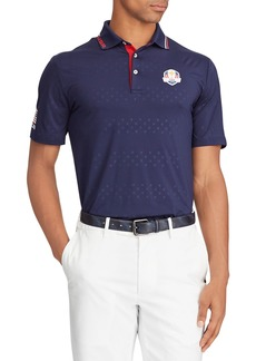 "Ralph Lauren Men's ""Sunday"" USA Ryder Cup Lightweight Knit Golf Polo Shirt"