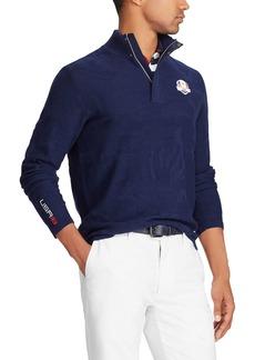 Ralph Lauren Men's Tonal Camouflage-Print Golf Sweater