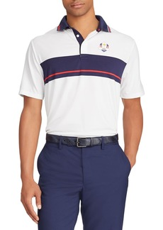 "Ralph Lauren Men's ""Tuesday"" USA Ryder Cup French-Knit Golf Polo Shirt"