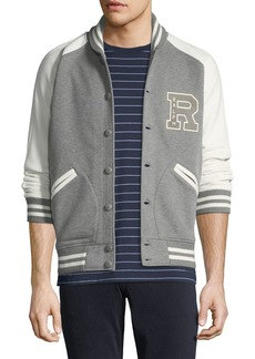 Ralph Lauren Men's Two-Tone Varsity Jacket