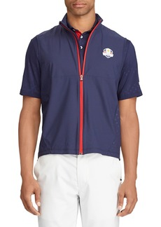Ralph Lauren Men's Unlined Zip-Front Golf Vest