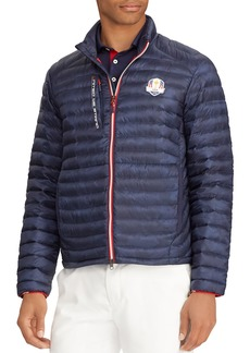 Ralph Lauren Men's USA Ryder Cup Camouflage-Print Quilted Down Jacket