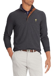 Ralph Lauren Men's Wednesday Ryder Cup  Pullover Water-Repellent Golf Shirt