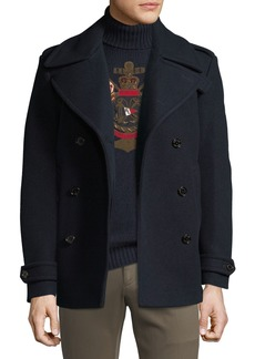 Ralph Lauren Men's Wool/Cashmere Pea Coat