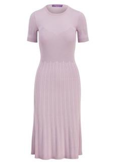 Merino-Silk Sweater Dress