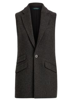 Ralph Lauren Merino Tweed Vest