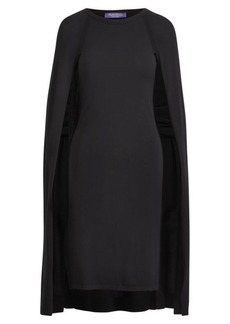 Merino Wool Cape Dress