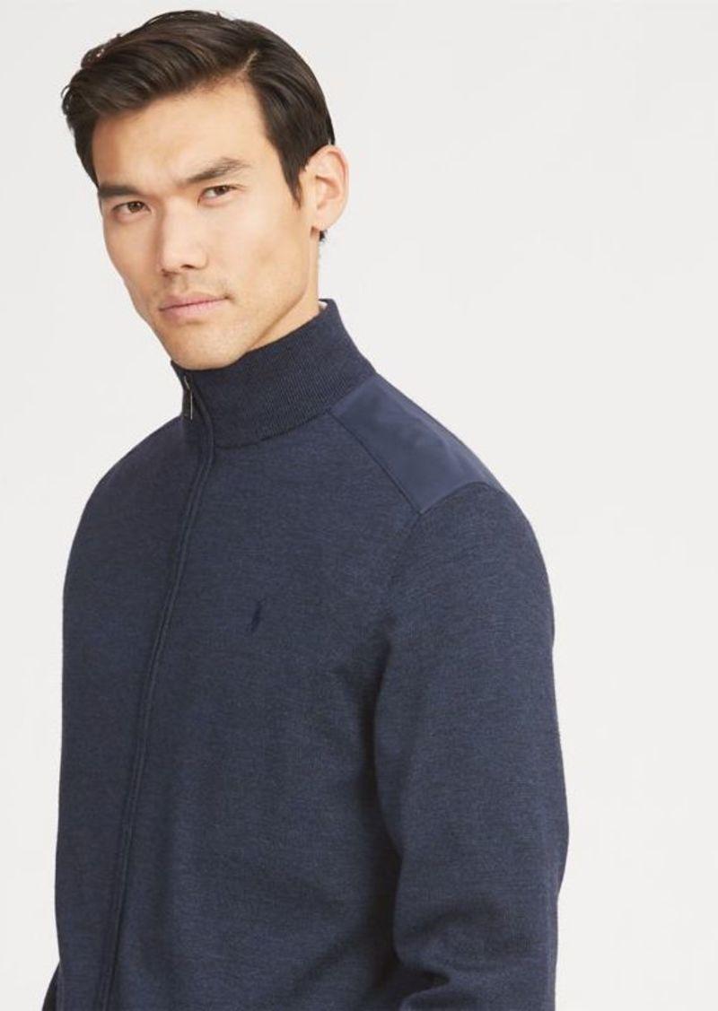 a392dbc231 Merino Wool Full-Zip Sweater