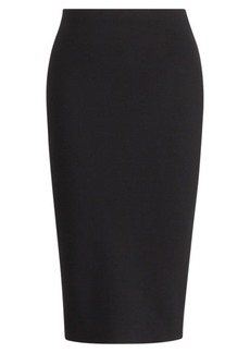 Ralph Lauren Merino Wool Pencil Skirt