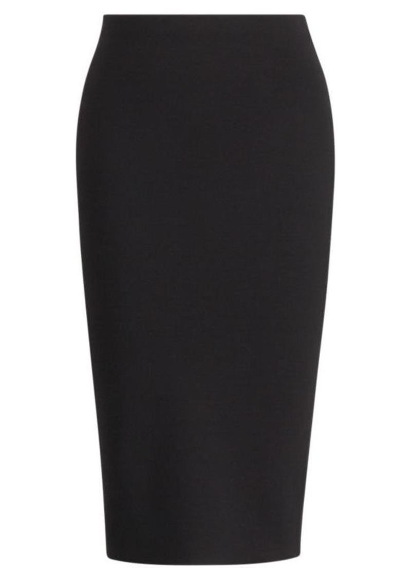 Ralph Lauren Merino Wool Pencil Skirt