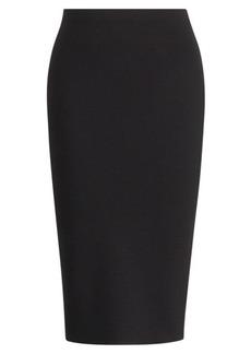 Merino Wool Pencil Skirt